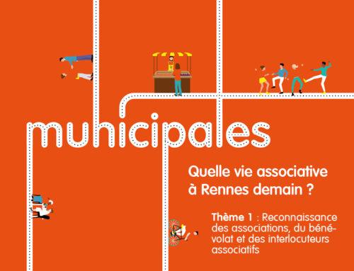 Thème 1 / Reconnaissance des associations, du bénévolat et des interlocuteurs associatifs