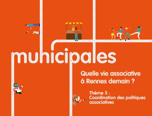 Thème 3 / Coordination des politiques associatives