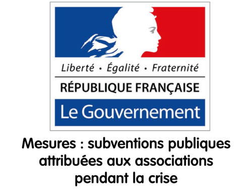 Associations, subventions et crise sanitaire